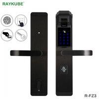 RAYKUBE Elektronik parmak izi kapı Kilidi Ev anti-hırsızlık Kilidi Parmak Izi Doğrulama Akıllı Kilit Şifre RFID R-FZ3