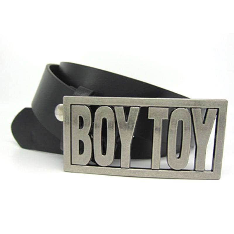 BOY toy belt buckle black belt