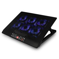 12 17 Inch 6 Mute Light Cooling Fans Notebook Cooling Pad Laptop USB Radiator Computer Cooler