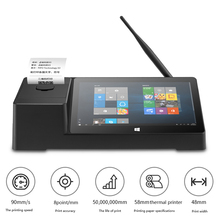 PIPO X3 POS PC Printer Win10 Mini Tablet Computer Intel Z8350 Quad Core 8.9 1920*1200 2G 32G HDMI LAN 58mm Thermal