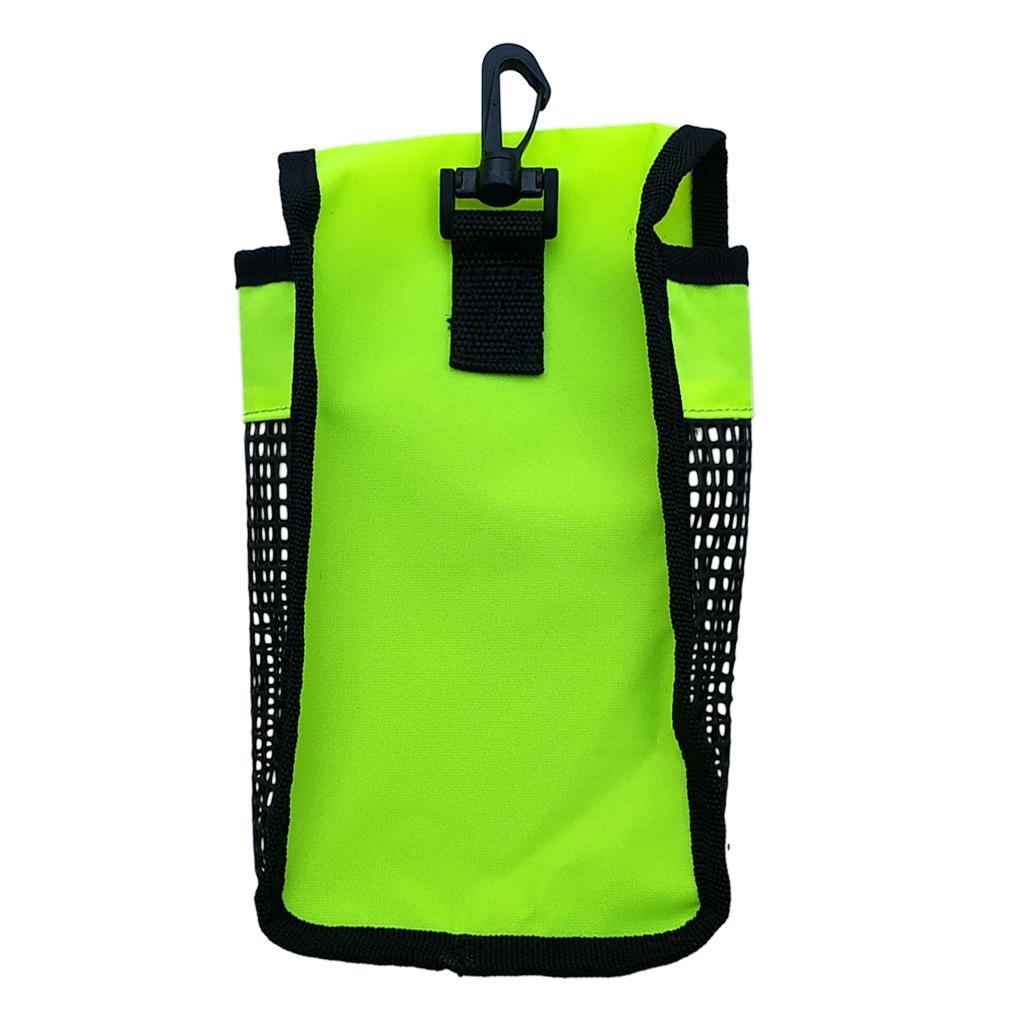 Perfeclan Marker Buoy SMB & Finger Reel & Bag for Scuba Diving/Snorkeling Safety Gear Diving Snorkeling Gauges Accessories