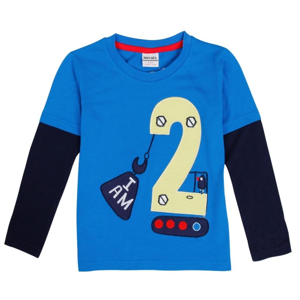 Shirt design boy 2016 - Aliexpress Com Buy Retail Nova Kids Baby Boys Clothing 2016 Full Sleeve Geometric Boy T Shirt 2016 New Design Children Boys Baby Clothing Top Tee From