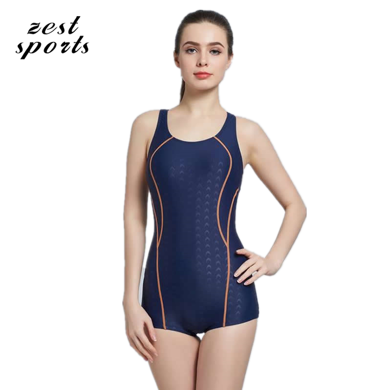 6101,women One Piece Swimsuit/professional swimwear, imitation shark skin,Sports Beach suit, Removable chest pad.