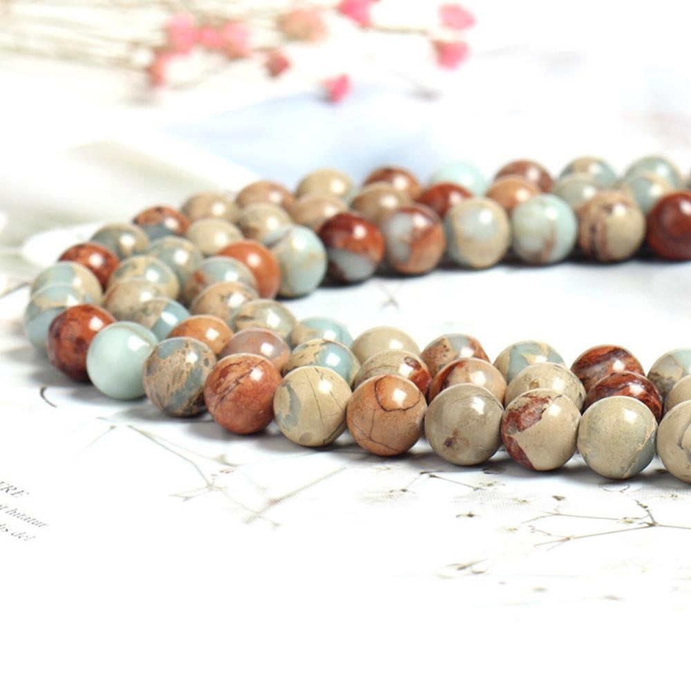 Natural Colorful Serpentine Gemstone Round Beads 4mm 6mm 8mm 10m 12mm 14mm 16/'/'
