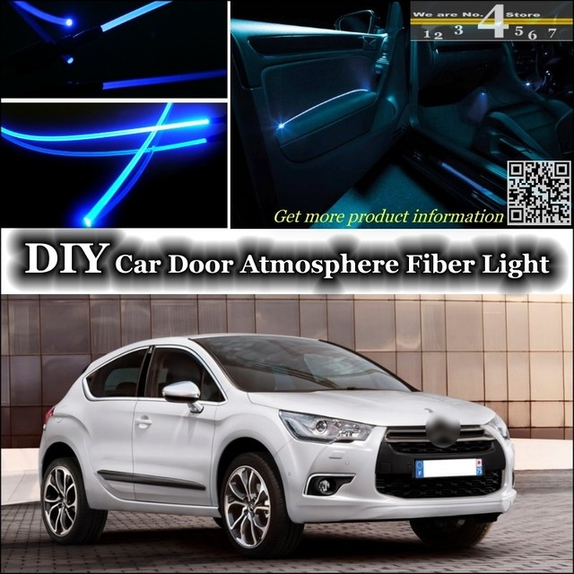 For Citroen DS4 DS 4 interior Ambient Light Tuning Atmosphere Fiber ...