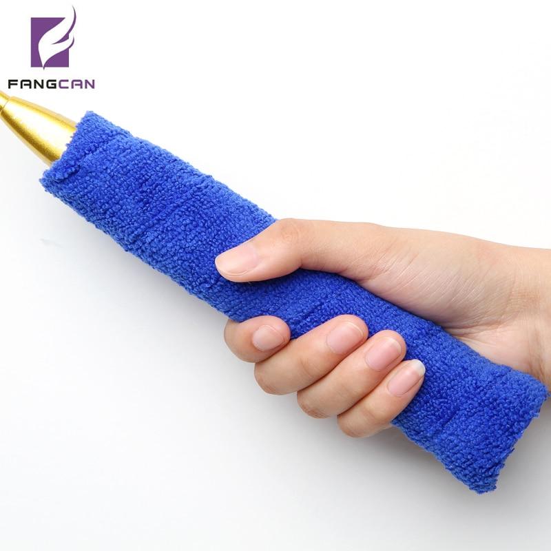 1 st FANGCAN FCTG-01 mjuka badminton / tennisrackets grepp svettabsorberande grepp mikrofiber bomullsgarn handduksgrepp högkvalitativ