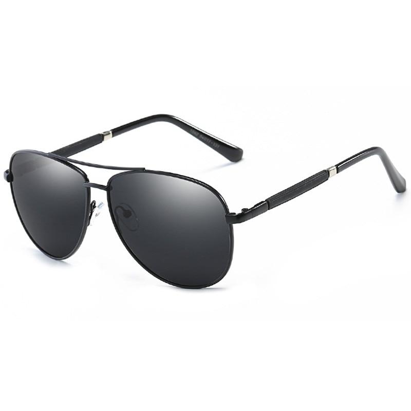 Pilot Polarized Sunglasses Men Fashion Brand Driver Aviation Sun Glasses For UV400 Male Driving Fishing Oculos QF031 in Men 39 s Sunglasses from Apparel Accessories