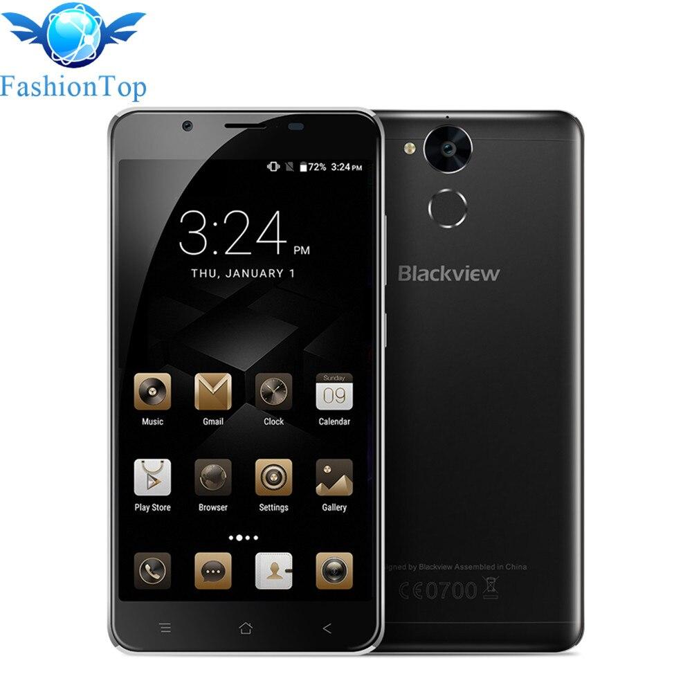 Original Blackview P2 lite 6000mAh Mobile Phone Android 7.0 4G 5.5