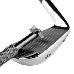 Image 4 - 1 個 6 刃ゴルフアイアン & ウェッジクラブフェース溝ツール削りクリーナー V U 正方形ゴルフアクセサリー鉄溝