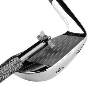Image 4 - 1 PCS 6 Lama di Ferro di Golf e del Cuneo Club Viso Scanalatura Strumento Per Affilare I Coltelli Cleaner Per V U Piazza Accessori Per il Golf scanalature di ferro