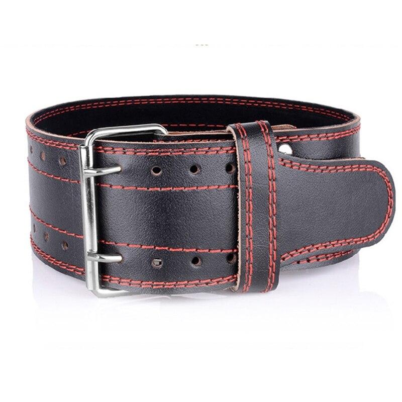 Haltérophilie ceinture en cuir de vachette Fitness Fitness haltérophilie soutien du dos équipement d'entraînement de puissance livraison gratuite