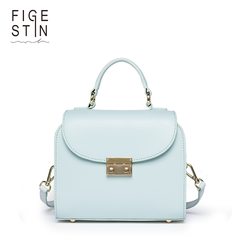 FIGESTIN Mini Top-handle Handbags for Women Fashion Split-leather Green Cover Shoulder Bags Small Totes Crossbody Hand Bag New unicalling fashion brand split leather crocodile women bag retro top grade bucket bag chain mini crossbody bags for women