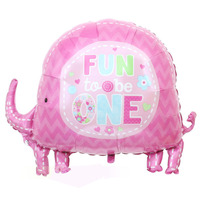 95x70cm air balloons ballons imported balloons party decoration character animal birthday party supplies elephant balloons
