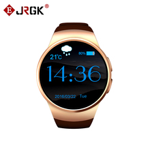 Bluetooth Smart Watch KW18 Round Screen Support SIM TF card Heart rate music bluetooth Smartwatch kw18 for ios Android Phone