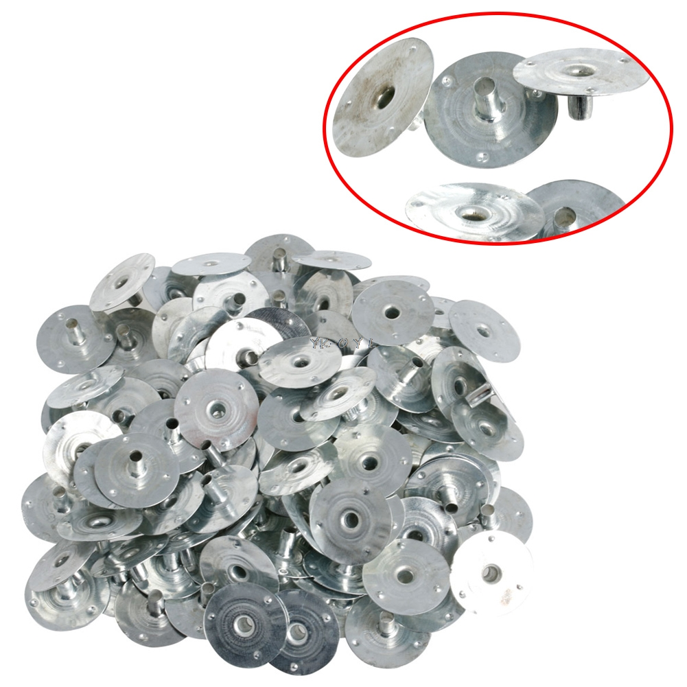100/200Pcs Candle Wick Metal Sustainer Wick Tabs Silver For Candle Making Gift 12.5*2.5mm