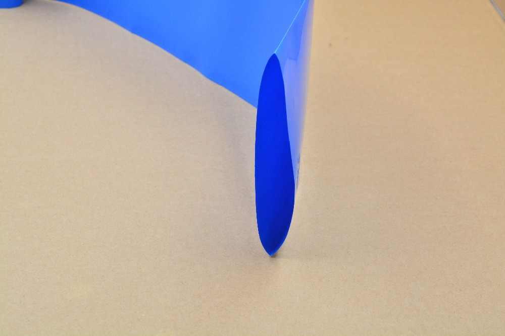 Ширина сглаживания 140 мм прозрачный черный синий белый много цветов ПВХ термоусадочная трубка картридж батарея корочка 1 шт