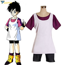 Anime Dragon Ball Z Videl Cosplay Costume japan anime dragon ball original megahouse dragon ball gals complete collection figure videl