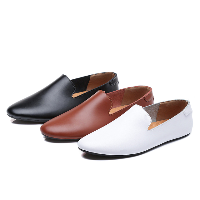 Men Genuine Leather Loafers