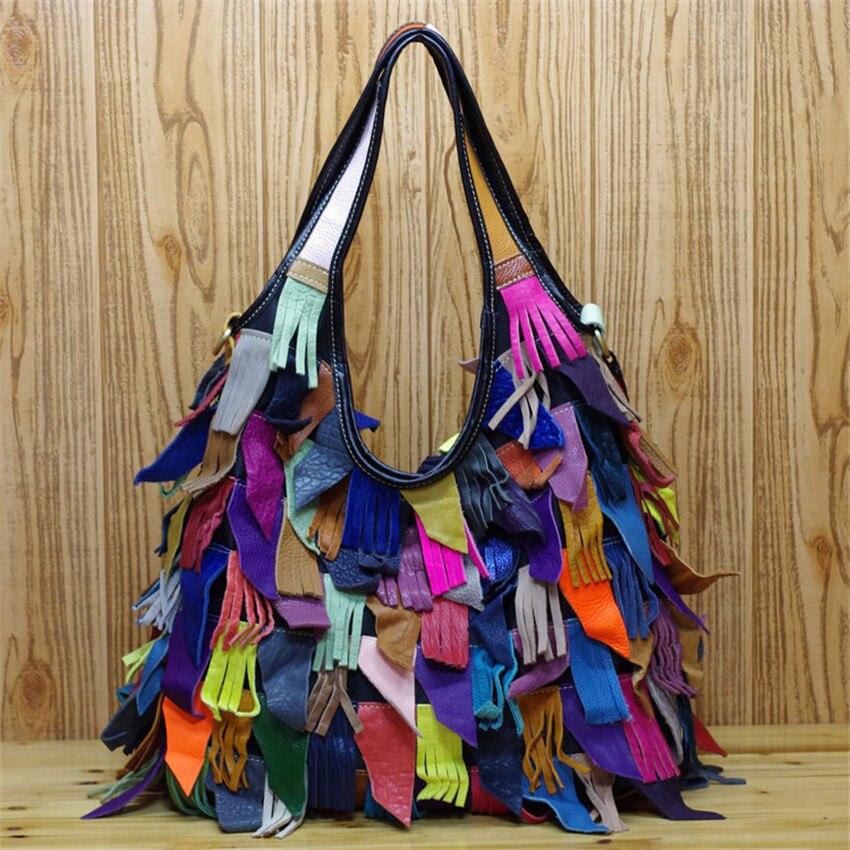 b60b6cb79bc96 Caerlif 2018 moda kobiety torebki skórzane messenger torby na ramię  sprzęgła rocznika kitki torby Bolsas Femininas torebki damskie