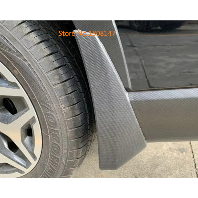 Ultra Soft Car Fender Covers: Car Styling Body Cover Plastic Fender Soft Mudguard
