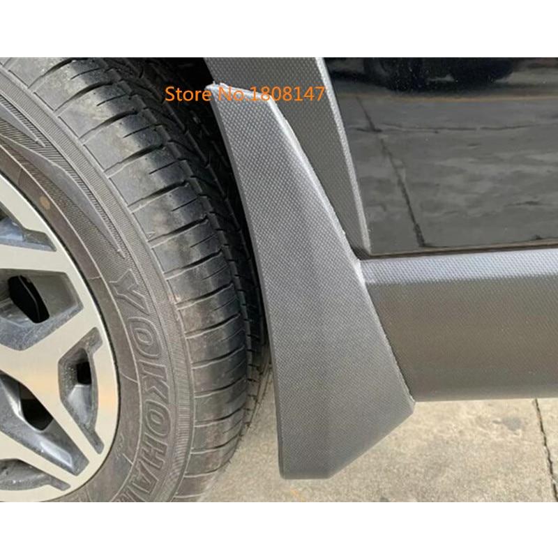 Car Styling Body Cover Plastic Fender Soft Mudguard