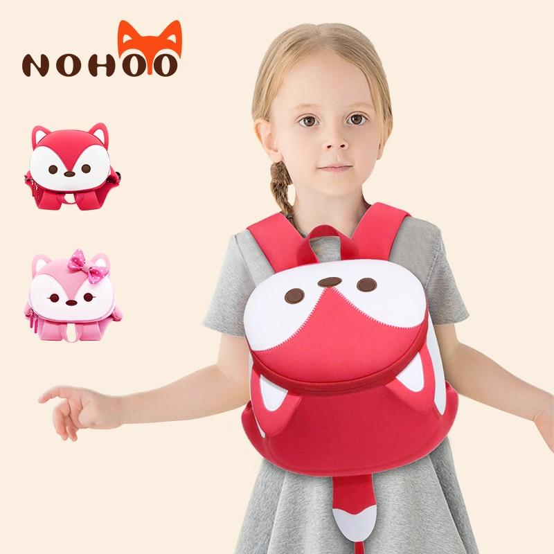 NOHOO School Bags High Quality Kids Bag For Girls Waterproof 3-7year Old Backpack Mochila Escolar 2019 New Children's Bag