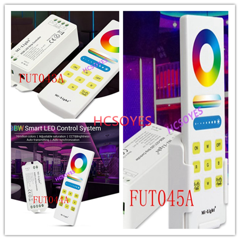 Rgb Controlers Mi Light Fut045a Rgb+cct/fut044a Rgbw Smart Led Control System/fut043 Rgb+cct Led Strip Controller Wifi App Smart Panel Remote Excellent Quality Lights & Lighting