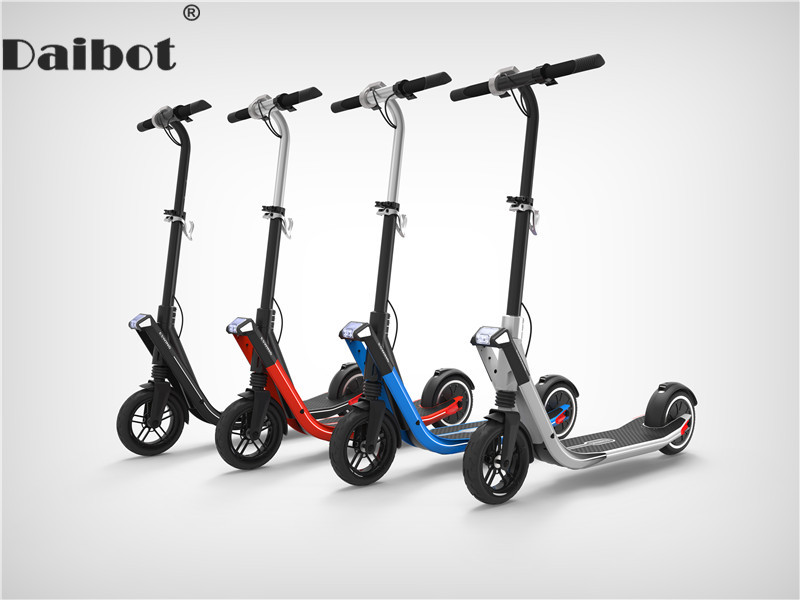 Daibot Scooter électrique 250W deux roues auto équilibrage Scooters 8 pouces 36V pliable électrique planche à roulettes Scooter pour adultes