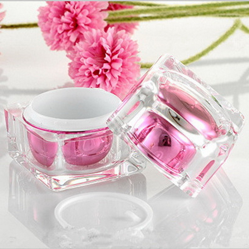 1PC 30g Acrylic Crystal Cream Bottle Cosmetic Packing Jar Emulsion Bottle Manufacturers Selling High-end Makeup Empty Cream Jar 10pcs 5g cosmetic empty jar pot eyeshadow makeup face cream container bottle acrylic for creams skin care products makeup tool