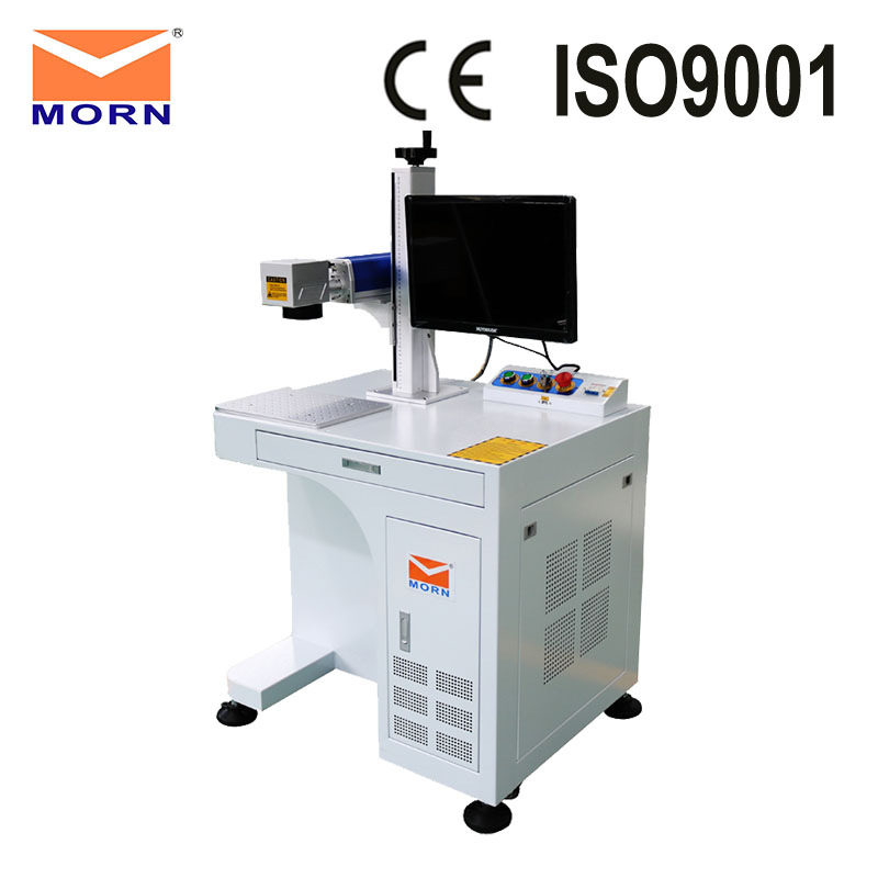 MORN Fiber Laser Marking Machine Metal Laser Engraving Machine For Sale Gold Silver Brass Of Marker