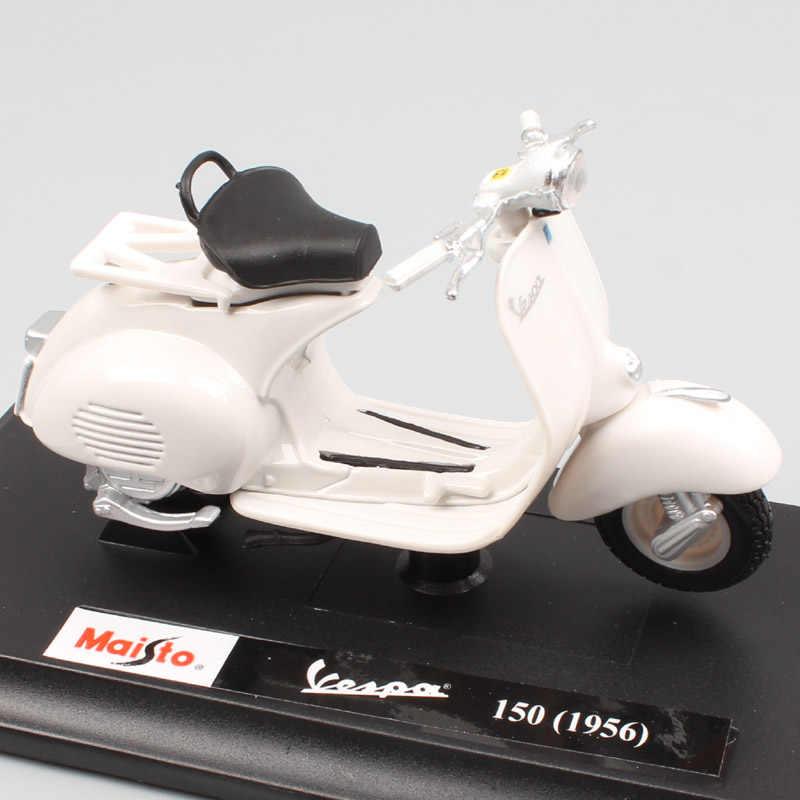 Vespa Tap 1956 Grau mit Sockel 1//18 Maisto Modellmotorrad Modell Motorrad