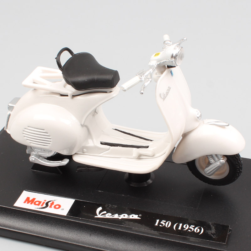 1:18 scale maisto vintage classic mini Piaggio Vespa 150 cc 1956 scooter motorcycle die cast toy model car collectible kid gift