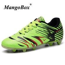 341dcd41ee Sapatos de futebol Crianças Primavera Outono Sapatos Chuteiras de futebol  Crianças Leves Sneakers Borracha Inferior Tênis