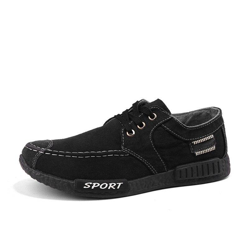 De Dentelle Respirant Occasionnels up Noir bleu Confortable ardoisé Nouveautés Chaussures Hommes Lumière Mode Toile Sneakers IBq4ZZ