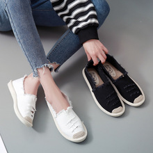 Dropshipping Women Flats Shoes Slip On C