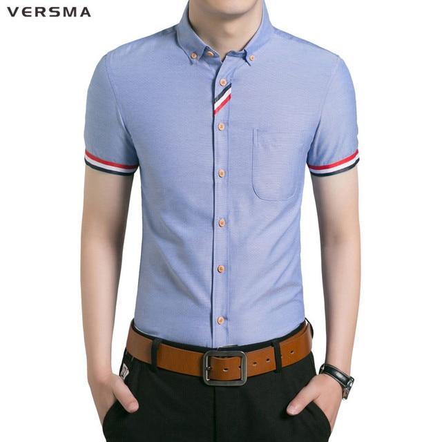 Aliexpress.com: Comprar VERSMA 2017 hombre blanco Camisa