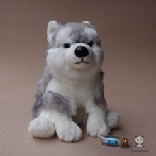Stuffed Animal Toy Simulation Husky Plush Doll Toys For Children Gifts Pillow Cute Huskies Dolls