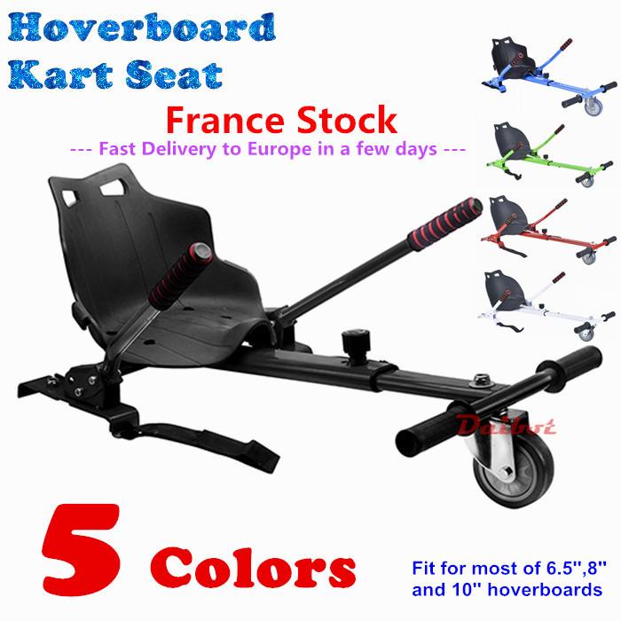 Hoverkart for hoverboards 6.5 inch 8 inch 10 inch Self Balance Scooters Skateboard Hoverseat hoverboard kart for Kids 6 5 adult electric scooter hoverboard skateboard overboard smart balance skateboard balance board giroskuter or oxboard