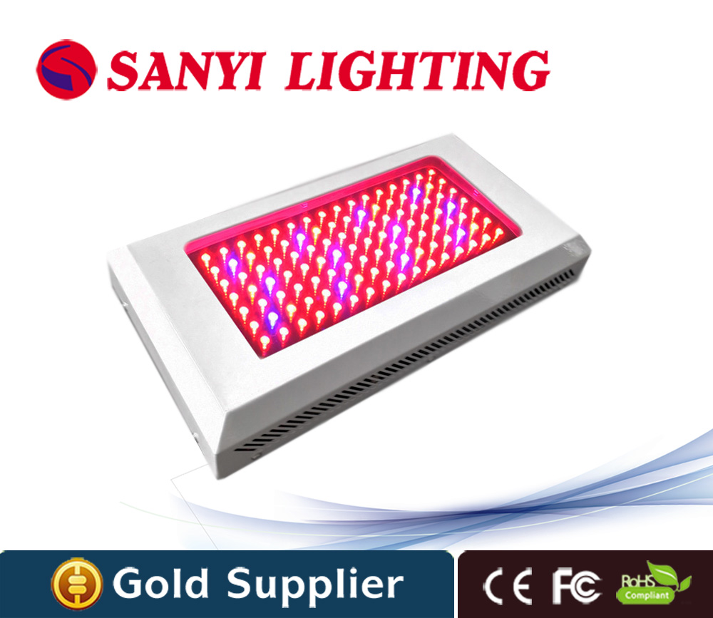 120W led grow light high lumens indoor greenhouse growing system 112pcs for plants growing