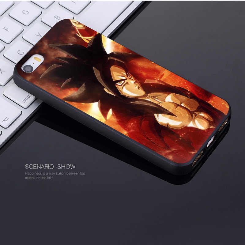 MaiYaCa Anime Dragon Ball Saiyan Goku Vegetto Gohan Coque Shell Telefoon Case voor Apple iPhone 8 7 6 6 S plus X XS XR XSMax 5 5 S SE