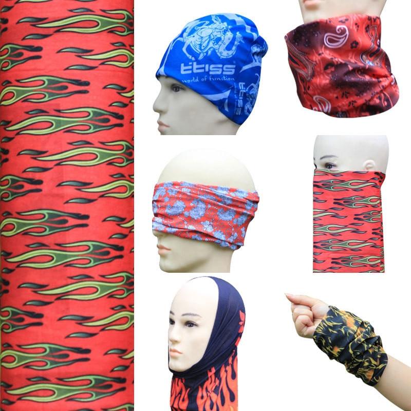 Damen-accessoires 10 Teile/paket Nettes Gesicht Maske Für Männer Koreanische Schwarz Chirurgische Mode Mund Maske Magie Schal Nahtlose Verschmutzung Maske