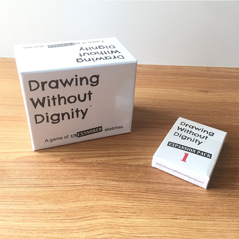 Funny Drawing Without Dignity Board Games Card Combo Pack Expansion Pack 1 Adult Party Children's Toys
