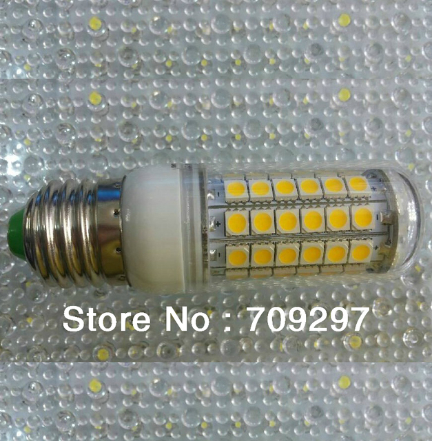 Wholesale 5pcs/lot E27/E14/G9 12W 69LED 5050 SMD  Warm white/Cold white AC220V LED corn light bulb/spot light 1100LM  908866