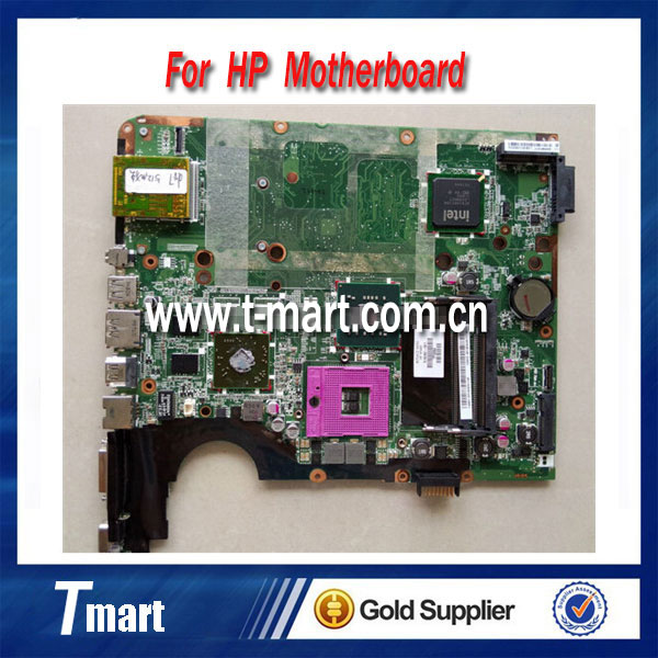 ФОТО for hp DV7 516292-001 laptop motherboard intel non-Integrated PM45 with 4 video chips working well and  full tested