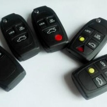 2/3/4/3+ 1/4+ 1 пуговицы Складной флип ключ чехол брелок автомобиля чехол заготовки для VOLVO C30 C70 S40 S80 V50 V70 XC90 XC70 XC60