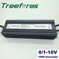 60W 80W 100W 150W 200W 300W 360W 0/1 10V 1 10V PWM Dimmable LED Driver Adapter DC 12V 24V Power Supply Transformer CE RoHS