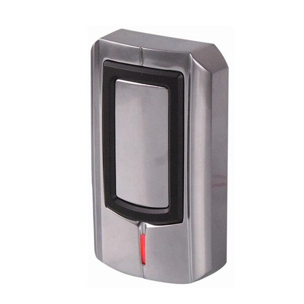 DWE CC RF 12V IP 68 metal anti-vandal access control card reader wiegand 26 wiegand 34 dwe cc rf rfid card reader metal case waterproof ip68 125khz emid or 13 56mhz mf wiegand 26 for access control system 002o
