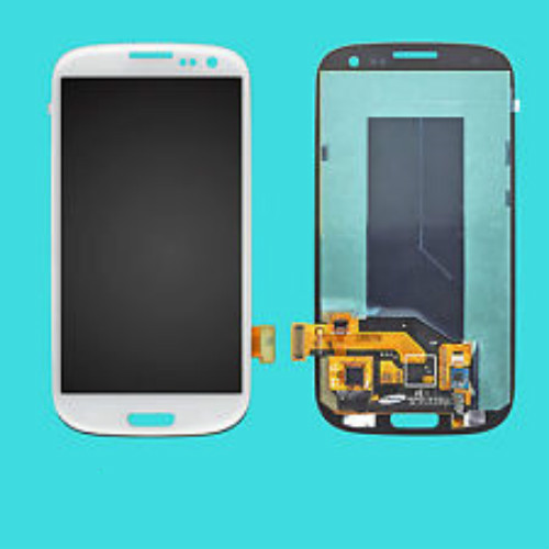 Free Shipping For Samsung Galaxy SIII ,I535/ SCH-I535 T999/ SGH-T999 Display Touch Screen Digitizer Without Frame 3 Colors