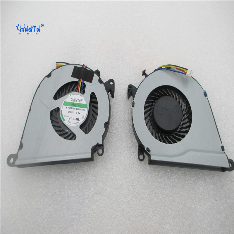5pcs CPU COOLING FAN FOR HP OMEN 15-AX FAN 15-ax033dx 15-AX020CA 15-AX039NR 15-AX252NR 15-AX253DX TPN-Q173 cpu fan cooler 858970 laptop cpu cooler cooling fan for macbook pro retina 15 a1707 left right side fan set replacement late 2016