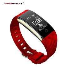 S2 Bluetooth Smart Браслет Heart Rate браслет IP67 Водонепроницаемый Плавание Фитнес трекер спортивные smartband для телефонов Iphone Android